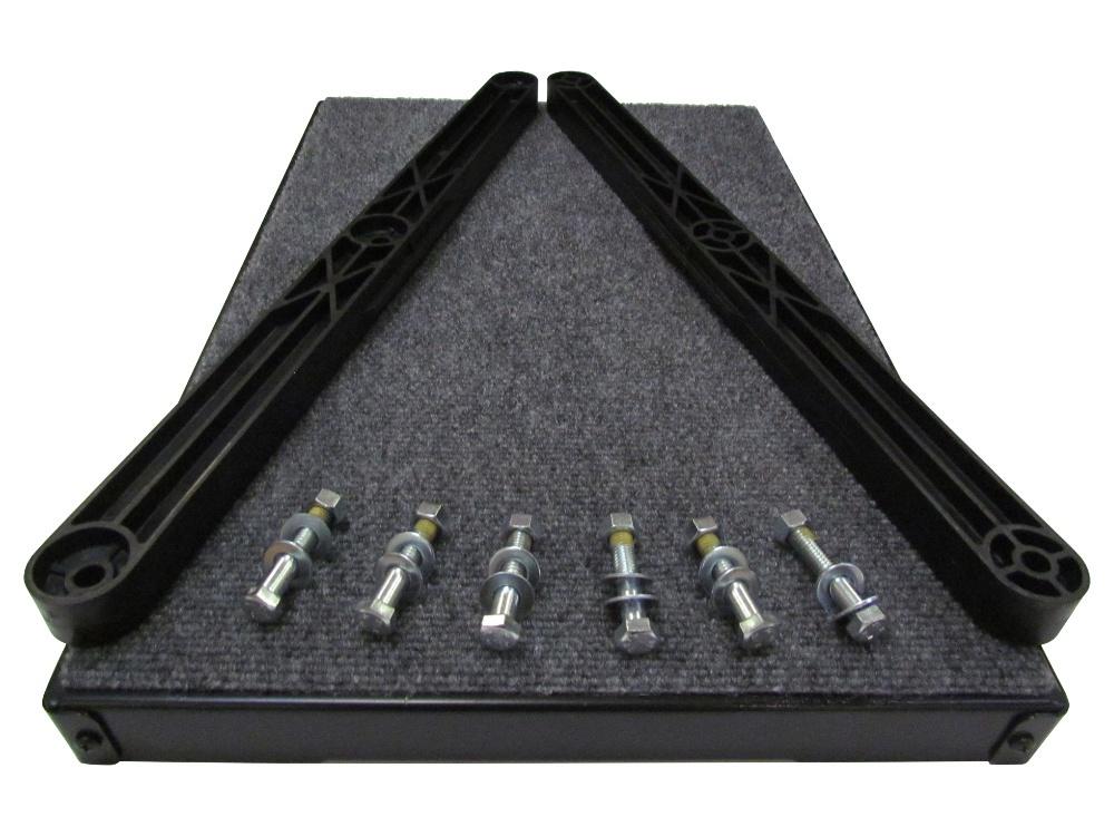 Aluminum Pet Loader Platform Kit - 14.5 and 16-inch