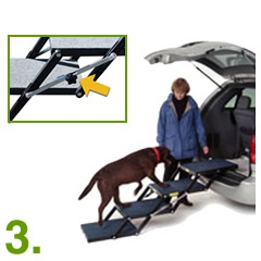 3. Set the angle and use Pet Loader